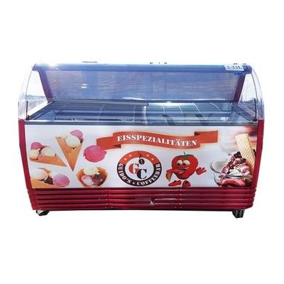витрина ??? мороженое шариковых kuweciarka ISA 13 кювет