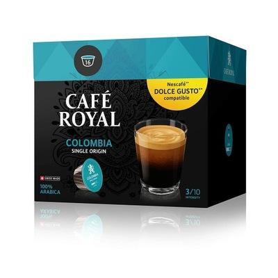 капсулы Cafe Royal Colombia Nescafe Dolce Gusto