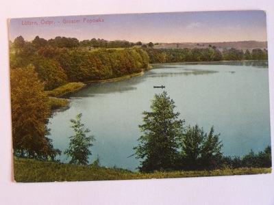 Озеро Popówka большая мазурские озера Гижицко 1915