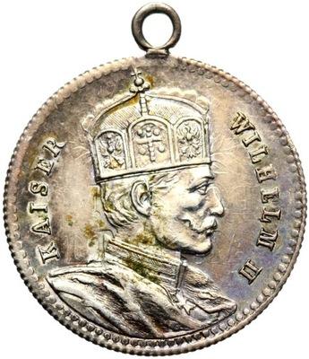 + Пруссия 1888 Вильгельм II REGIERUNGS ANTRITT серебро