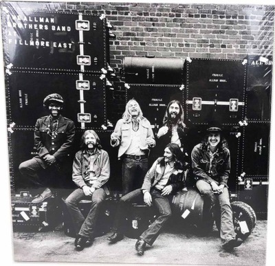 THE ALLMAN BROTHERS BAND LIVE AT FILLMORE EAST
