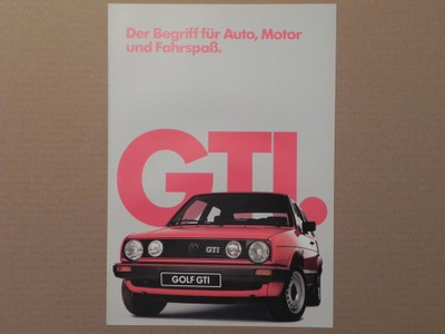 VOLKSWAGEN VW GOLF II GTI - 1985 r