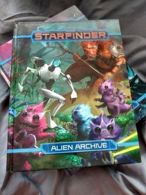 STARFINDER ALIEN ARCHIVE – Podręcznik pierwszy