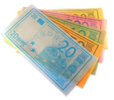бумага Столовая сладкие вафли Евро банкнот 400 ??
