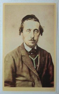открытка Портрет Еврея И. Кригер 1860 перепечатка SPK