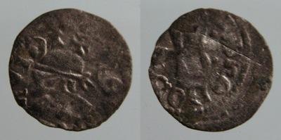 7312. Венгрия ,ЛЮДОВИК И 1342-1382 DENAR САРАЦИН
