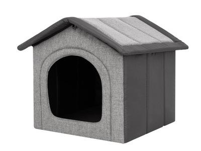 Buda, domek dla psa z materiału i pianki -R3 52x46