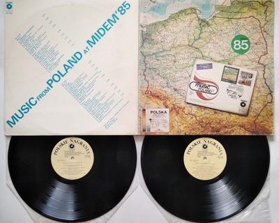 2 LP: Music From Poland At Midem '85 Stańko Maanam