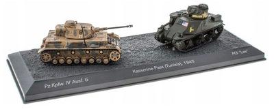 Pz.Kpfw. IV Ausf. G vs M3 Lee - 1:72