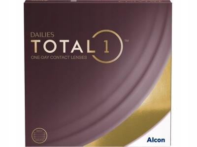 Soczewki jednodniowe Dailies TOTAL 1 90 szt.