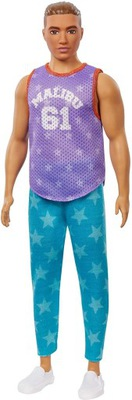 Barbie Stylowy Ken T-shirt Malibu GRB89
