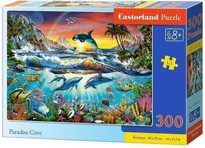 Puzzle 300. Rajska zatoka. Castorland. B-030101.