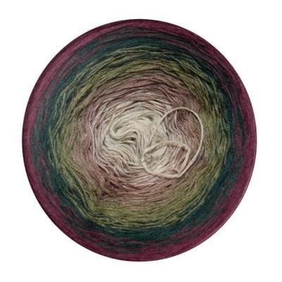 motek ombre, ombre yarn, włóczka 1200m 4nitki
