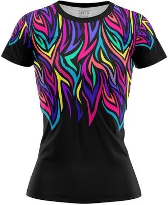 Koszulka Damska Sportowa Tshirt Termoaktywna L