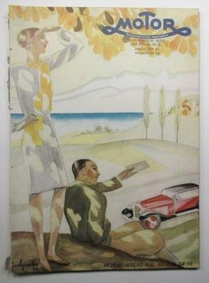 МОТОРЧИК MAGAZINE, NR 9, BERLIN 1929, ILUSTRACJE