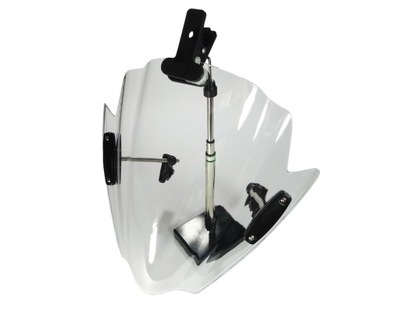 стекло светлая прозрачная с ручками руля