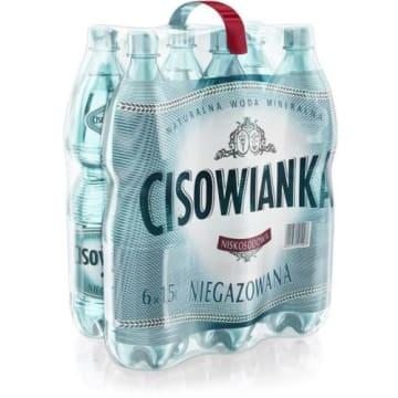CISOWIANKA 1 ,5Л натуральная негазированная вода 6шт