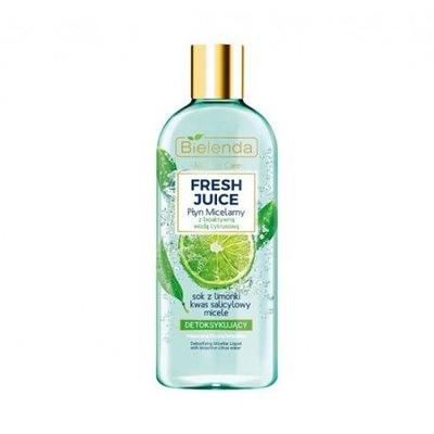 Bielenda Fresh Juice Płyn micelarny detoksykujący