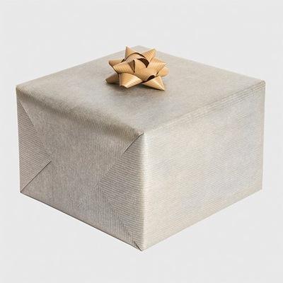 Papier do prezentów kraft srebrny 200x70cm