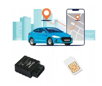 FGPS.PL ЛОКАТОР GPS OBD2 APLIKACJA SIM ЕВРОПА F001
