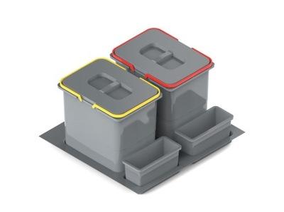 Корзина для мусора Контейнер Круиз PRAKTIKO 60 2 x 15l