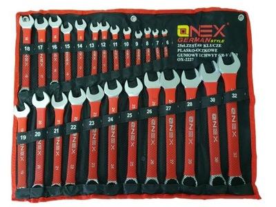 комплект ключи ПЛАШМЯ КОЛЬЦЕВЫЕ 6 -32 25 элем OX3227