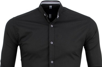 Modna biała koszula męska ze stójką XL 7711448065 Allegro.pl  sOfIp