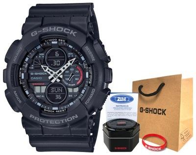 Zegarek Casio G-SHOCK GA-140-1A1ER 20BAR hologram