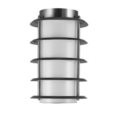 Polux Lampa ogrodowa SERENA tuba INOX brazowy