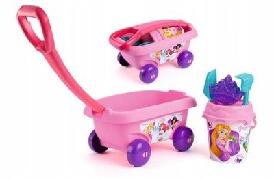 SMOBY Vozík s vedre a príslušenstvo Princezná
