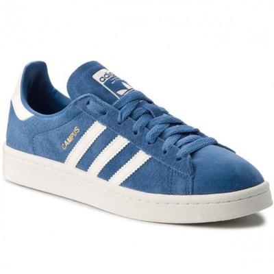 Adidas Buty męskie Campus niebieskie r. 42 23 (CQ