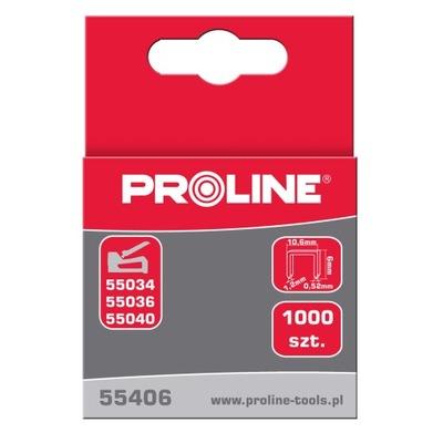PROLINE 55408 ZSZYWKI TYP G/11, 8MM, 10,6*1,2MM, 1