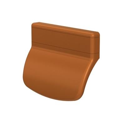 Pochwyt uchwyt balkonowy okna drzwi PVC złoty dąb