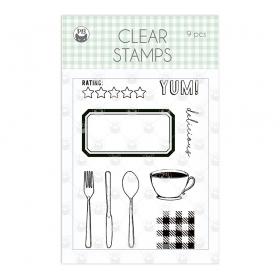 STEMPEL- kuchnia sztućce kubek talerz nóż widelec