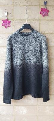 Męski gruby sweter (wełna 50%) 4You XXL