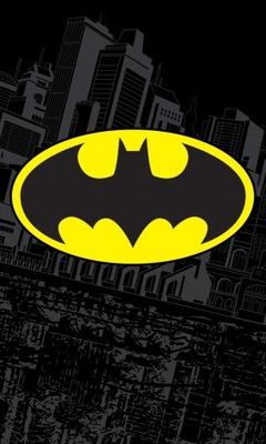 Ręcznik 30X50 Batman bawełniany do Przedszkola