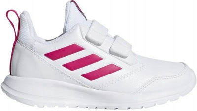Buty dla dzieci adidas Tensaur K biało czarne EF1085