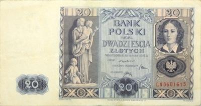 польский  - II-РП - БАНКНОТЫ -  1936