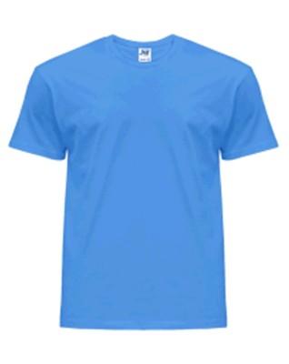 T-shirt Koszulka męska JHK Premium 190 AZZURE S
