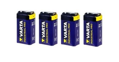 4x Bateria alkaliczna VARTA INDUSTRIAL 6LF22 9V
