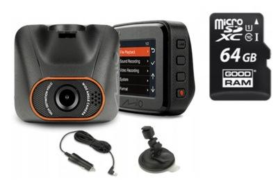 Wideorejestrator Kamera Mio MiVue C540 +karta 64GB