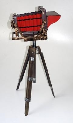FOTO aparat STYLOWY metal DEKORACJA KL