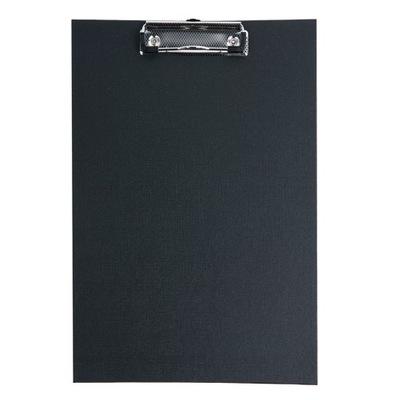 Podkładka Deska CLIPBOARD PVC A4 z klipem CZARNA