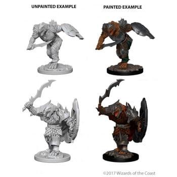D&D Miniatures - Male Dragonborn Fighter