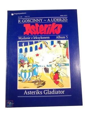 ASTERIKS GLADIATOR 98 r. wydanie z leksykonem