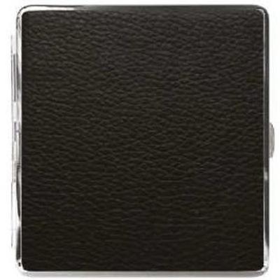 Papierośnica Eko-Skóra+Metal ADAMO 910065 Black