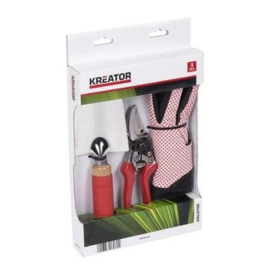 комплект инструментов секатор лопатка перчатки МАСТЕР