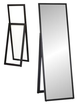 зеркало стоящие узкая Рама 160x50 белая _ _ или черная