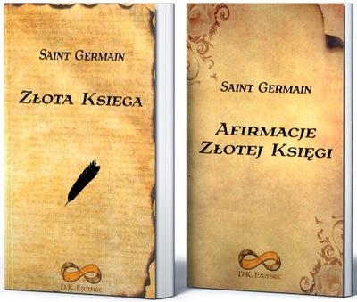 Afirmacje Złotej Księgi Złota Księga Saint Germain