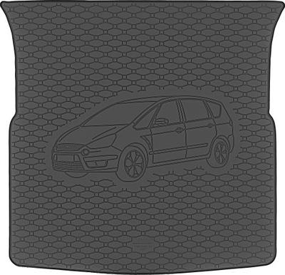Ford S-Max 2007-2015 Mata bagażnika